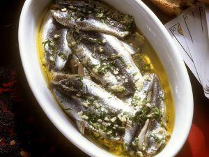 Marinated Anchovies recipe