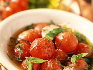 Marinated Cherry Tomato Bowl recipe