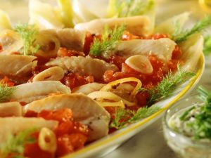 Marinated Trout Fillets recipe