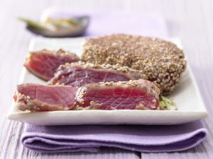 Marinated Tuna recipe