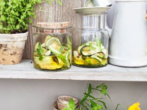 Marinated Zucchini recipe