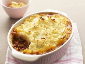 Mashed Potato Topped Meat Pie recipe