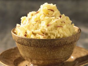 Mashed Potatoes with Red Onions recipe