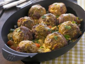 Meatball and Vegetable Curry recipe