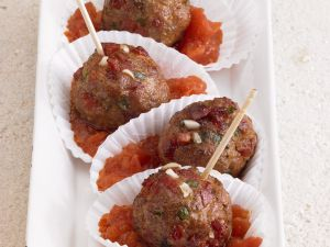 Meatball Canapes recipe