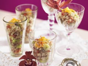 Mediterranean Style Rice Salad with Pistachios recipe