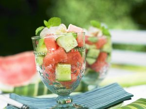 Melon and Cucumber Salad recipe