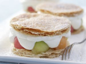 Melon Millefeuille recipe