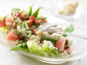 Melon-Mozzarella Salad recipe