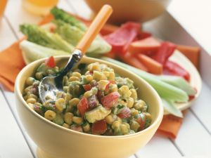 Mexican Chunky Corn Salsa recipe