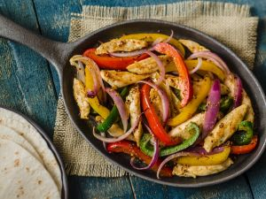 Mexican-style Chicken and Peppers recipe