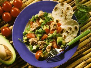 """Mexican"" Tacos with Tuna Salad recipe"