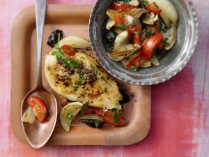 Middle Eastern Chicken and Vegetables recipe