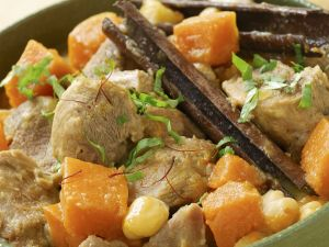 Middle Eastern Stewed Lamb recipe