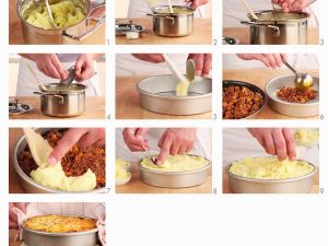 Minced Beef Pie with Cheesy Potato Topping recipe