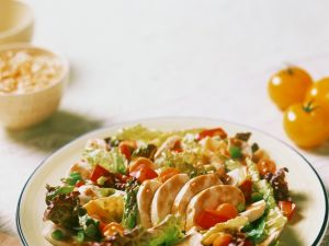 Mixed Green Salad with Chicken recipe