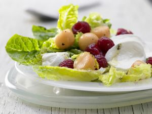 Mozzarella and Melon Salad recipe