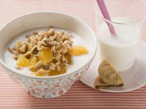 Muesli with Figs and Oranges recipe