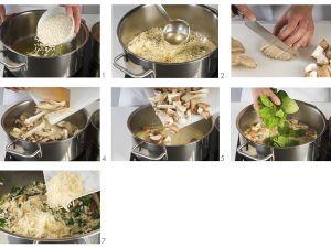 Mushroom and Spinach Risotto recipe
