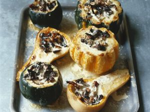 Mushroom Filled Mini Squash recipe