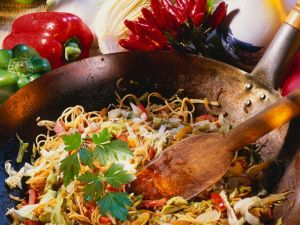 Noodles and Vegetables from the Wok recipe