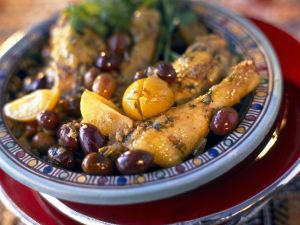 North African Stew with Chicken recipe