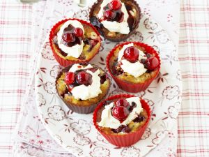 Nut and Berry Muffins recipe