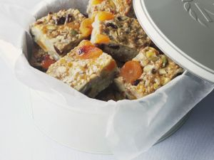 Oat and Fruit Squares recipe