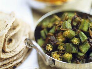 Okra with Garlic recipe