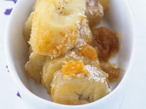 Orange and Coconut Baked Bananas recipe