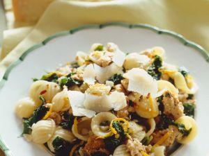 Ear Pasta with Citrus and Pork recipe