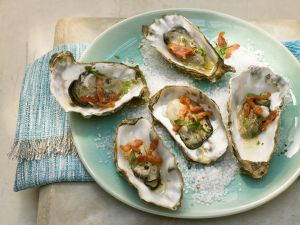 Oysters with Bacon recipe