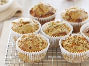 Paleo Carrot, Coconut and Almond Muffins recipe