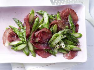 Pan-Roasted Green Asparagus recipe