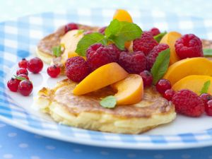 Pancakes with Summer Fruit recipe