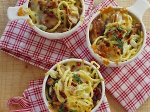 Pasta and Mushroom Casserole recipe