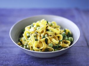 Pasta with Broad Beans recipe