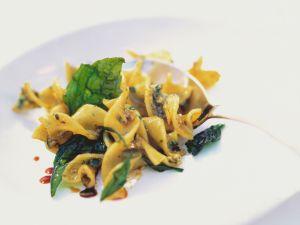 Pasta with Pumpkin Seed Pesto recipe