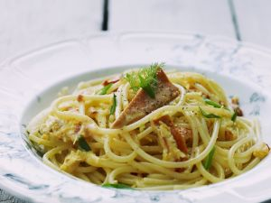 Pasta with Red Mullet recipe