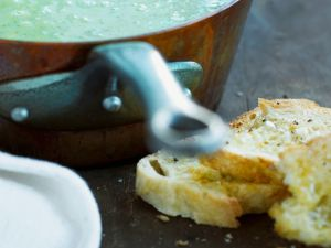Pea Bisque recipe