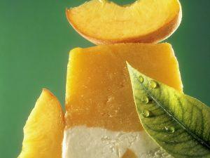 Peach-yogurt Ice Cream recipe
