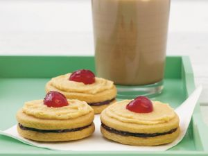 Peanut Butter Jelly Biscuits recipe