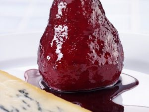Pears with Red Wine Syrup recipe