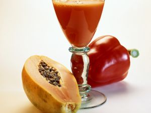 Pepper and Papaya Juice recipe