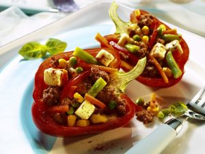 Peppers Stuffed with Ground Meat recipe