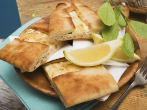 Stuffed Turkish Flatbread recipe