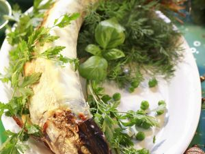 Pike with Herb Cream Sauce recipe