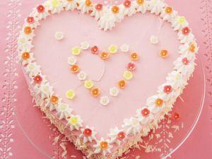 Pink Heart Cake recipe