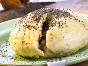 Plum Dumplings with Poppy Seed Butter recipe