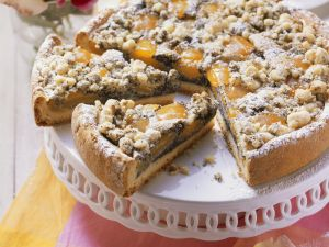 Poppy Seed Cake with Apricots recipe